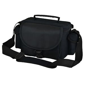 AAU Black DSLR Camera Case Bag for Fuji FinePix SL300 SL245 SL240 X-S1 S3 S5 Pro