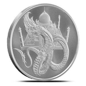 1 oz Silver World of Dragons Series The Indian Round
