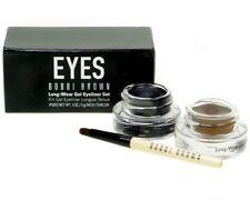 Bobbi Brown Long Wear Gel Eyeliner Set Black & Sepia Ink Brush Kit