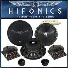 Hifonics TITAN TS6.2 C 2-Wege Lautsprecher Set 16,5cm 250 Watt Auto Boxen 165mm