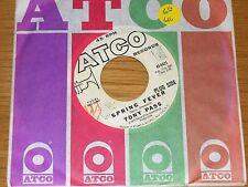 """PROMO 60s ROCK 45 RPM - TONY PASS - ATCO 6421 - """"SPRING FEVER / TRUE TRUE LOVE"""""""