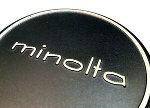 52mm MINOLTA Metal Front Lens Cap for Rokkor Celtic slip on 54mm ID