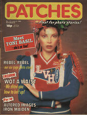 Patches Magazine 5 June 1982 No. 170   Altered Images   Iron Maiden   Toni Basil