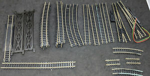 ATLAS N Gauge MIXED Track: STRAIGHT, SWITCHES, CURVES 26 PIECE LOT VINTAGE