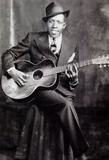 Robert Johnson Poster, Deal with the Devil, Blues Music, Singer, Guitarist