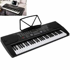 Digital 61 Tasten Keyboard E-Piano Klavier 255 Sounds Rhythmen Lern Funktion