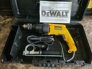 DEWALT DW505 1/2-Inch 7.8-Amp Variable-Speed Reversing Dual Range Hammerdrill