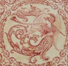 ANTIQUE TILE PHEME / ANGEL ON CERAMIC WALL TILE