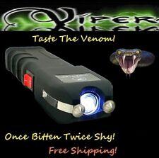Viper 3300 MV Rechargeable Police Stun Gun LED Flash Light + Taser Case