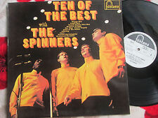 The Spinners ‎Ten Of The Best With The Spinners Fontana UK Vinyl LP Album