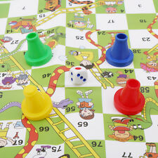Snakes and Ladders Traditional Children Board Game Kids Travel Funny Toy 6a