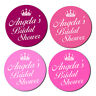 PERSONALISED PINK HEN DO PARTY NIGHT WEEKEND BAG STICKERS BRIDAL SHOWER LABELS