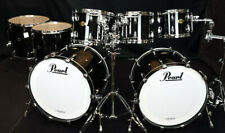 Pearl Doppelbassdrum Schlagzeug Masters Premium Piano Black Drumset MPL924XEP