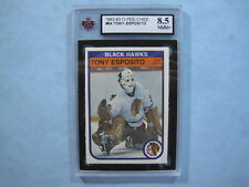 1982/83 O-PEE-CHEE NHL HOCKEY CARD #64 TONY ESPOSITO KSA 8.5 NM/MINT+ 82/83 OPC