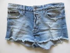 Women's BARDOT Sz 8 AU Denim Mini Shorts Blue ExCon Cotton   3+ Extra 10% Off