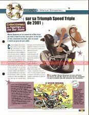 TRIUMPH Speed Triple 2001 Joe Bar Team Fiche Moto #007780