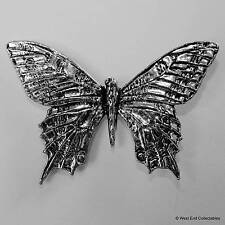 Butterfly Pewter Pin Brooch -British Handmade - Insect Papillon Gift Present