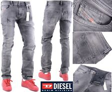 DIESEL THAVAR 0858M W34 L32 Mens Regular Fit Denim Pants Straight Jeans RRP £240