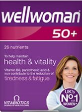 Vitabiotics Wellwoman 50 Plus Advanced Mineral & Suppliments - 30 Tablets