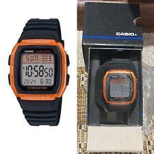 Casio W-96H-4A2 Original Multifunction 50M WR Sport Orange Mens Watch W-96H New