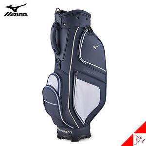 Mizuno 2021 URBAN 004 Men's Golf Caddie Cart Bag Light 9inch 5Way 7lbs PU-Navy