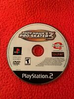 Tony Hawk's Pro Skater 3 PlayStation 2 PS2 -GAME DISC ONLY- USA Cleaned Working