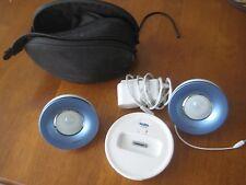Philips iPod Docking Speaker System & Case - White
