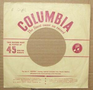 """Columbia"",""Company Sleeve"",Original"",""45rpm"",""7inch"",""Record"",Vintage,,} )));0>"