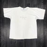 Vintage CALVIN KLEIN JEANS Mens T-Shirt | Retro Summer CK | XL White