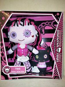 Monster High Draculaura & Count Fabulous - Plush Dolls 2009 BNIB. GREAT EXTRA!
