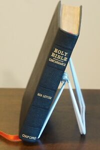 Holy Bible Oxford Self-Pronouncing Concordance Red Letter