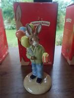 Boxed ROYAL DOULTON Hand Made Pottery CONGRATULATIONS BUNNYKINS MINT in Box