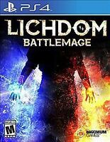 Lichdom: Battlemage Playstation 4 Ps4 Brand New Plastic has sleight rip