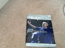 Chelsea V Manchester City 6.02.05 Programme