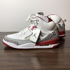 Air Jordan Spiz'ike Spizike size 10.5 2007 Fire Red Messenger Bag Included Spike