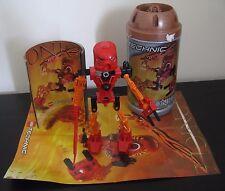 Lego Bionicle 8534 Toa Mata Tahu completo con caja, instrucciones y poster