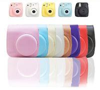 Instax Mini 8 Camera Leather Case Shoulder Bag Cover For Fujifilm Fuji Polaroid