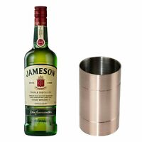 Jameson Original Blended Irish Whisky Set mit Jigger Flasche Alk. 40 % 700 ml