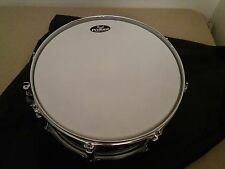 "Pearl SST Limited Edition Black and Silver 14"" x 5.5"" Snare Drum w/ Travel Bag"