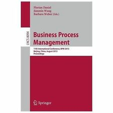 Business Process Management : 11th International Conference, BPM 2013,...