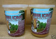2 Pack- Pine Tree Farms Tree Icing Suet Spread Wild Bird Peanut Butter Suet Mix