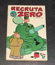 1979 RECRUTA ZERO ARMY RECRUIT 0 BEETLE BAILEY PORTUGUESE BRAZIL COMIC BOOK VTG