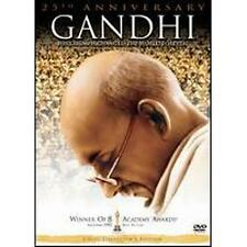 Gandhi (DVD, 2007, 2-Disc Set, 25th Anniversary Edition)-Exc Plus: (buy2, save2)