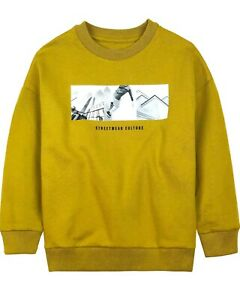 MAYORAL Junior Boy's Sweatshirt with Street Style  Print, Sizes 8-16