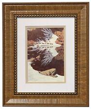 SEASON OF THE EAGLE Print by Bev Doolittle Matted & Framed