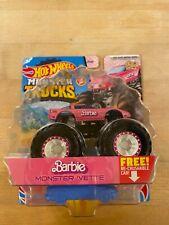Hot Wheels Barbie Monster 'vette, Barbie Monster Corvette - Treasure Hunt