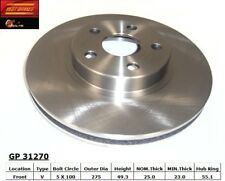 Disc Brake Rotor fits 2000-2008 Toyota Corolla,Matrix Celica  BEST BRAKES USA