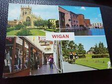Postcard Wigan multiview