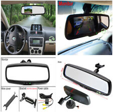 4.3'' TFT LCD Mirror Monitor for Car Reverse Rear View Backup Camera DVD+Bracket