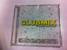 + cd audio nuovo incelofanato club mix 24 massive house hits